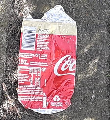 Coca-Cola Flattened