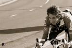 The happy biker