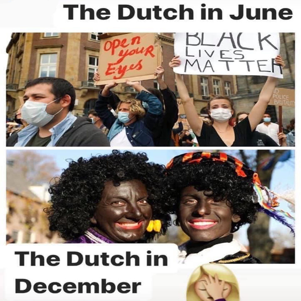 Dutch BLM Movement