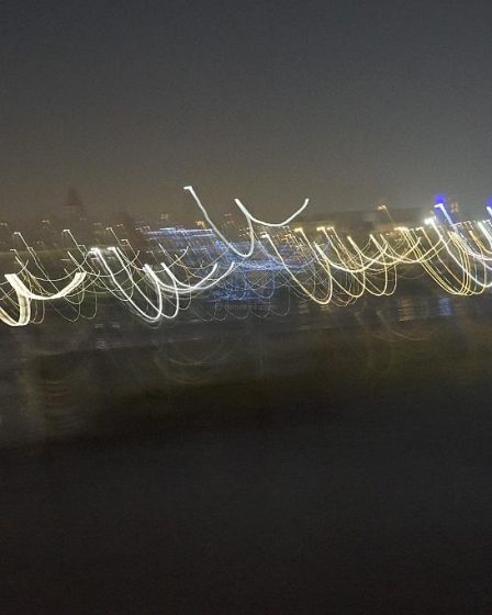 Night River Dancers On The Maas