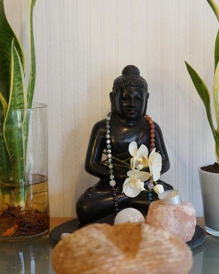 The Hungry Buddha