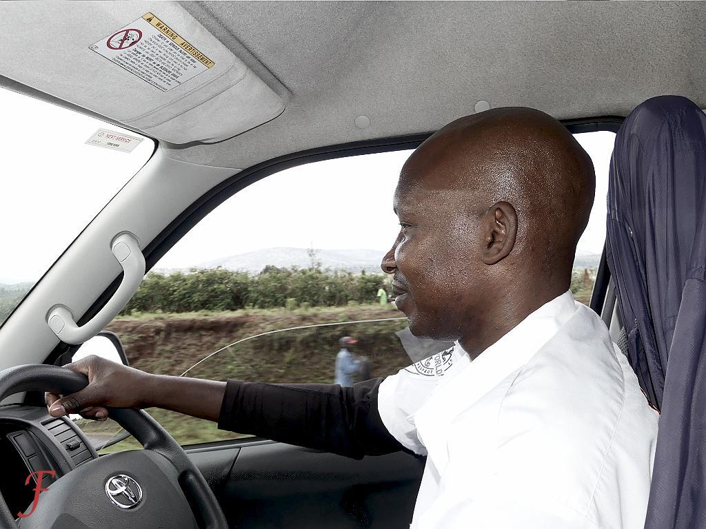 The Migori - Nairobi bus driver