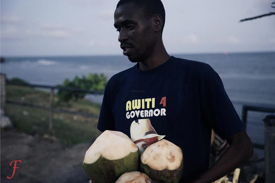 The all-round coconut seller