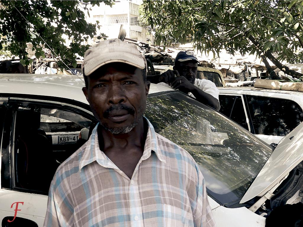 The car technician , Mombasa
