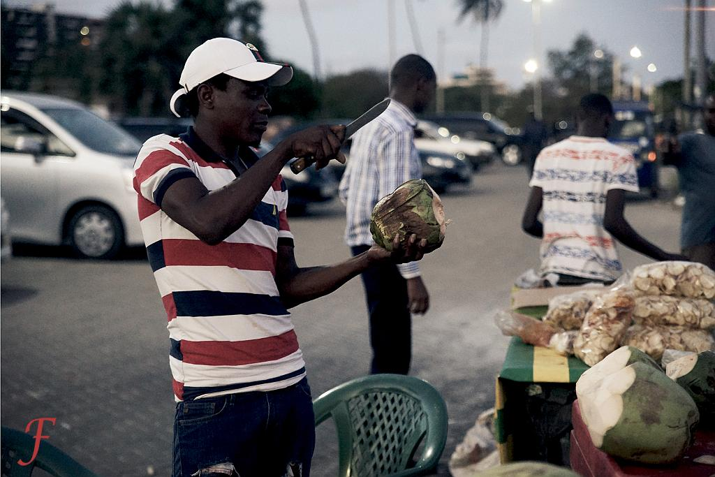 The coconut seller Mombasa