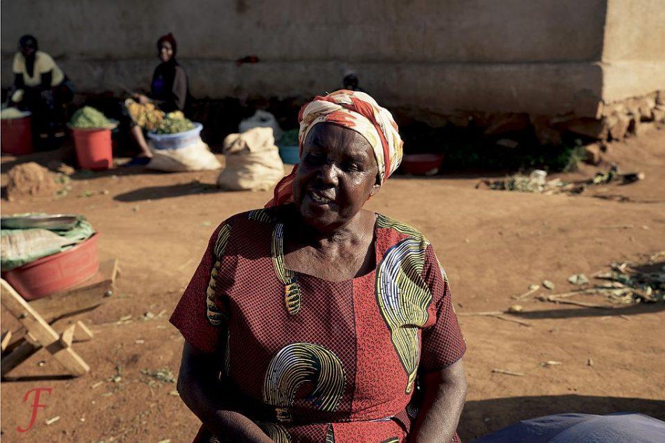 The market seller Sirare, Tanzania