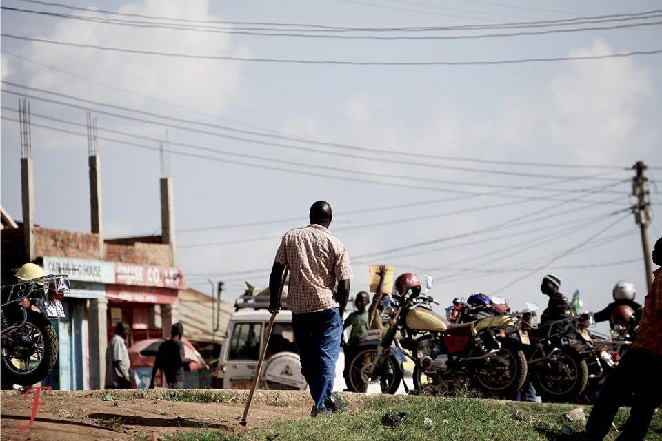 The street scene in Sirare, Tanzania