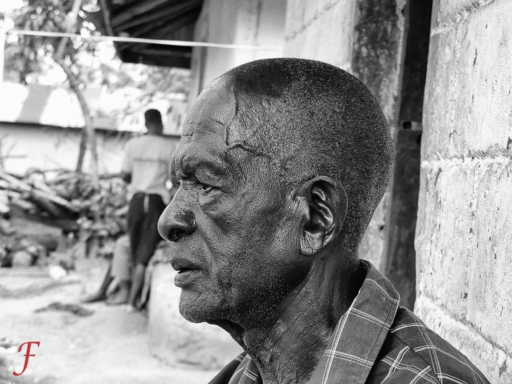 Old man in Migori